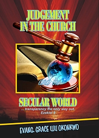 Cover - Judgement in the Church and the Secular World by Uju Grace Okoronkwo